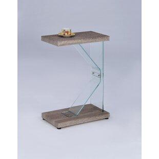Binegar End Table by Wrought Studio