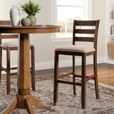 Ismay Ladder Back 30 Bar Stool (Set of 2) by Three Posts