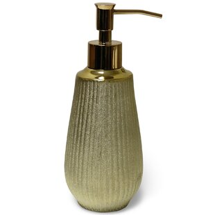 Affordable Fauna Hammered Lotion Dispenser By Bloomsbury Market