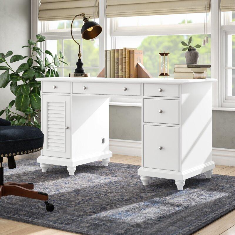 Three Posts Hunterstown Desk Reviews Wayfair