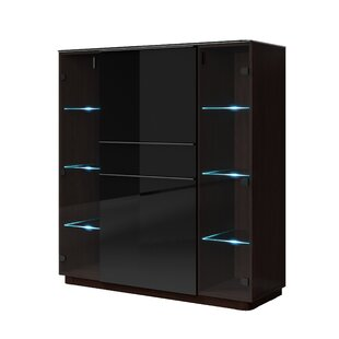 Flores 1 Drawer 4 Door Accent Cabinet by Orren Ellis