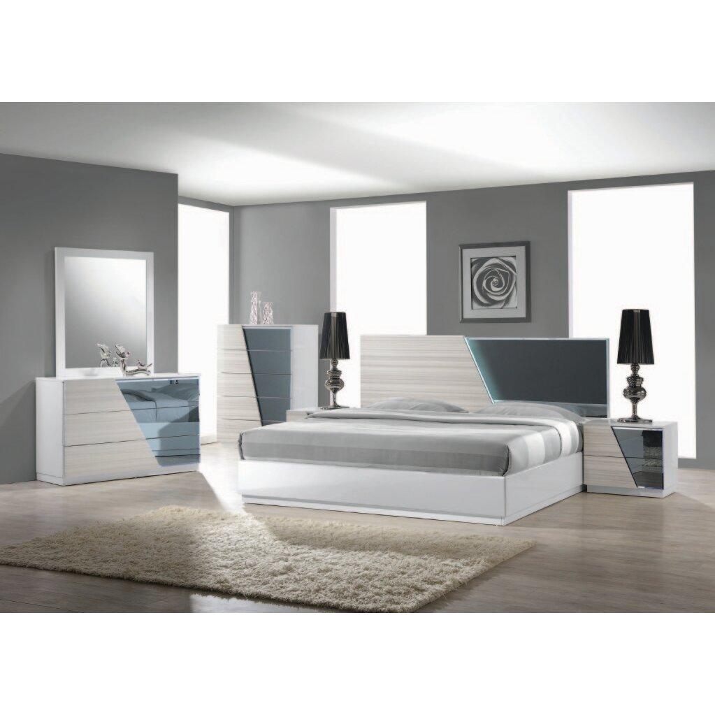 Murakami Platform 5 Piece Bedroom Set
