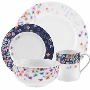 Mid Summer 16 Piece Dinnerware Set  sc 1 st  Wayfair & Cottage u0026 Country Dinnerware Sets Youu0027ll Love | Wayfair