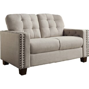 Janousek Tufted Loveseat by Charlton Home