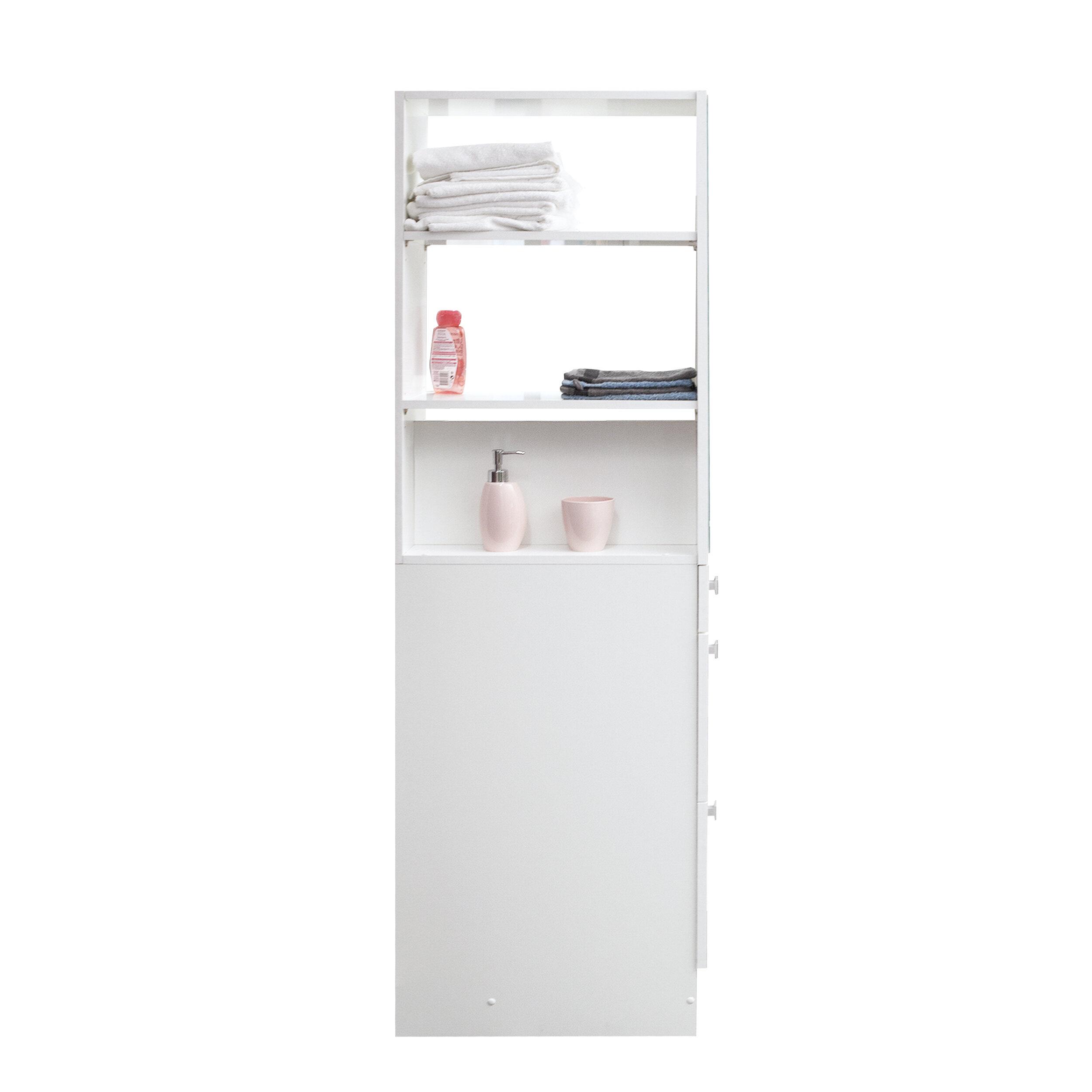 Tema Split 9 5 W X 71 H X 20 D Free Standing Bathroom Cabinet Perigold