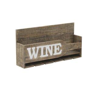 Blue Hill 1 Bottle Tabletop Wine Rack By Brambly Cottage