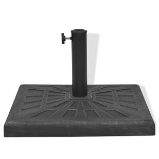 Resin/Steel Freestanding Umbrella Base By Freeport Park