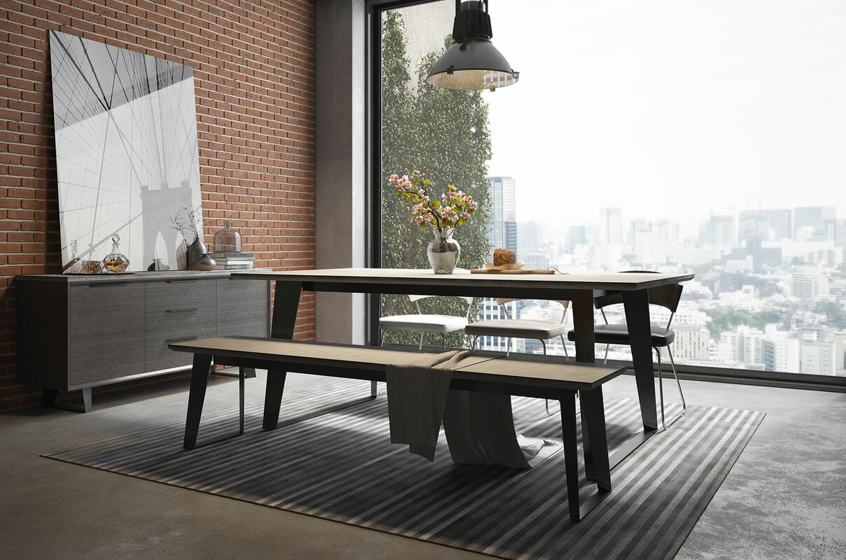 Amsterdam Steel Concrete Dining Table & Reviews