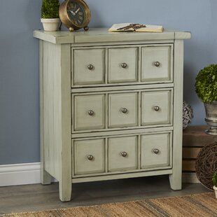 Sienna 3-Drawer Accent Chest