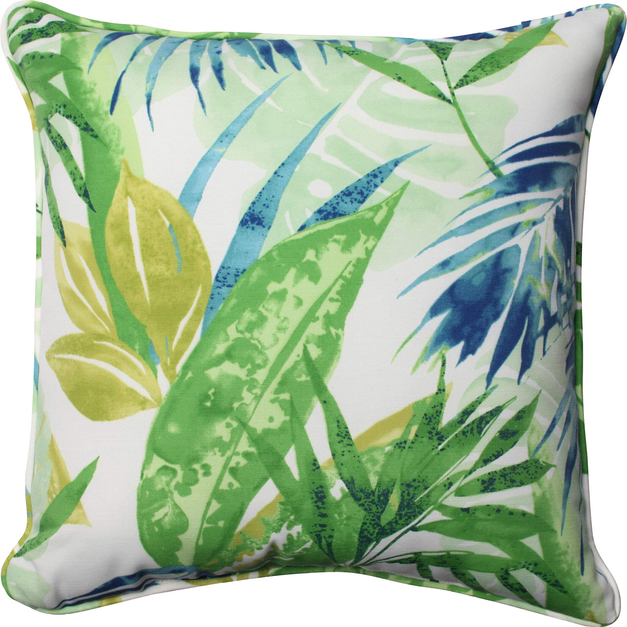 Highland Dunes Earnhardt Indoor Outdoor Throw Pillow Reviews Wayfair