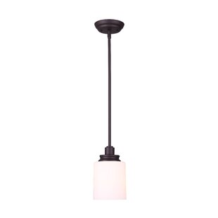Slocumb 1-Light Cylinder Pendant by Andover Mills