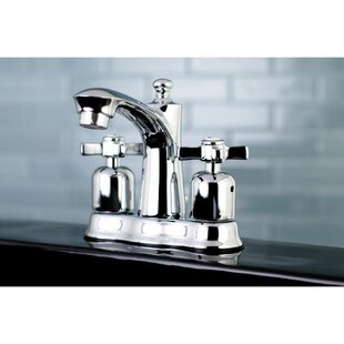Kingston Brass Millennium Centerset Bathroom Faucet with Drain Assembly Image