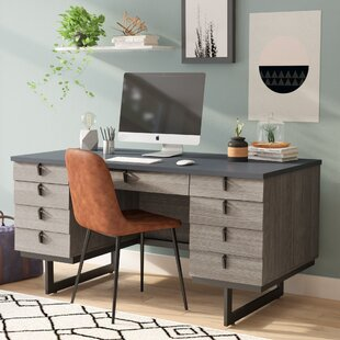 Andreas 9 Drawer Executive Desk