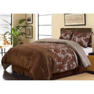Nanshing America, Inc Evan 4 Piece Comforter Set