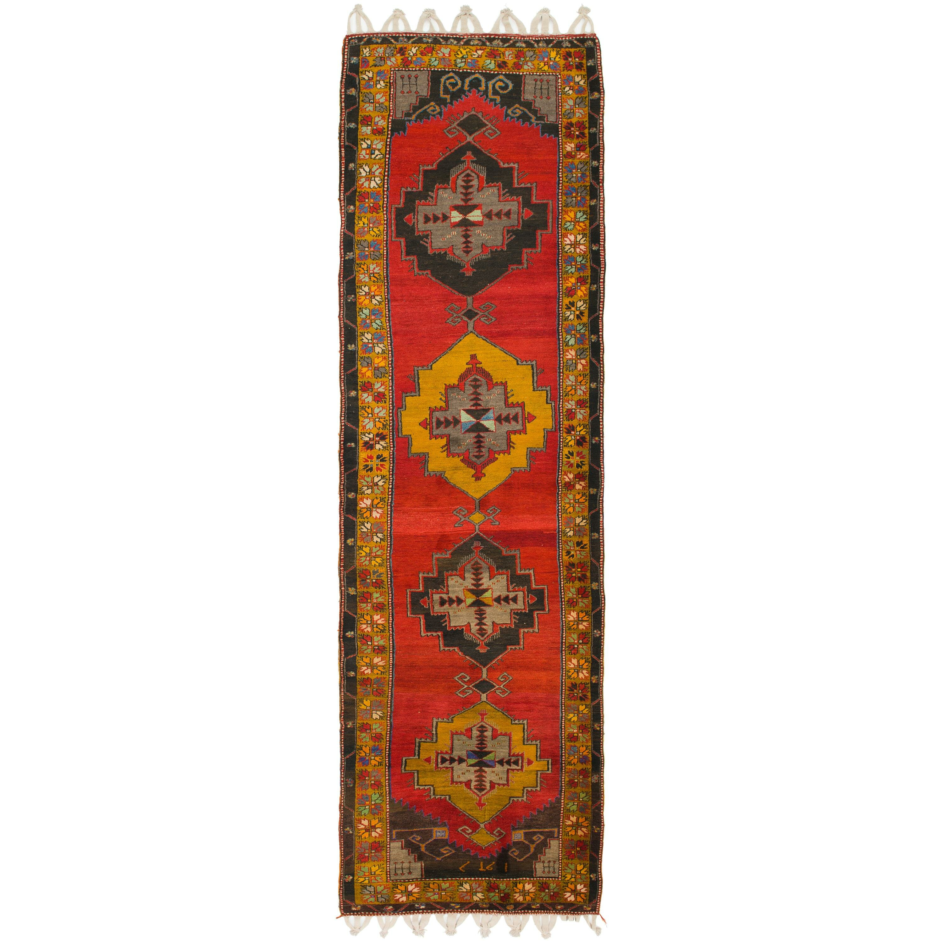 Isabelline One Of A Kind Diana Hand Knotted Runner 4 3 X 15 5 Wool