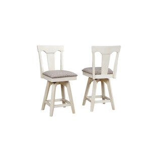 Yvonne Panel Back Wood Dining Chair (Set of 2) Gracie Oaks