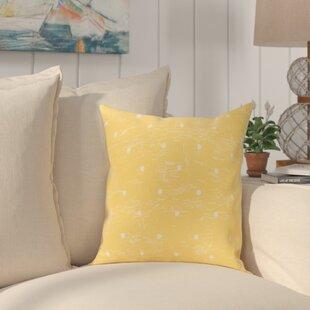 Golden Beach Dorothy Dot Geometric Outdoor Throw Pillow