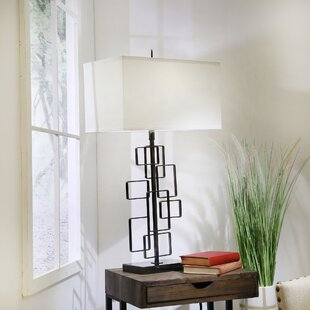 Bickley Metal Abstract 34 Table Lamp