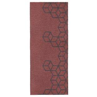 Oden Red Indoor/Outdoor Rug By Ebern Designs