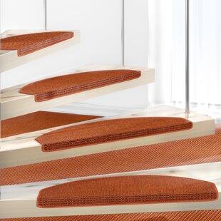 Orange Stair Tread by Symple Stuff