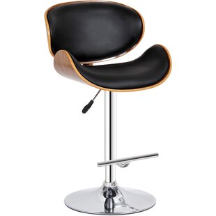 Adjustable Height Swivel Bar Stool by Cre..