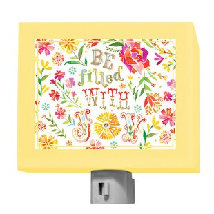 Oopsy Daisy Be Filled with Joy Night Light
