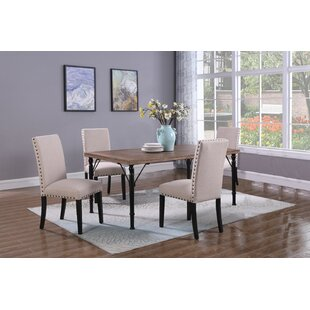 Fabiola 5 Piece Dining Set Gracie Oaks