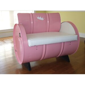 Kids Novelty Chair with Storage Compartment by Drum Works Furniture