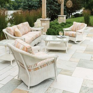 Lloyd Flanders Nantucket 3 Piece Seating Group with Cushion