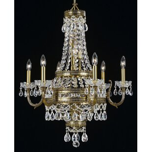 Classic Lighting Contessa 12-Light Empire Chandelier
