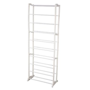 Inexpensive Concise Integration 10 Layers 30 Pair Shoe Rack By Rebrilliant