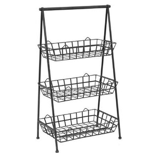 35.5 H x 19.5 W Shelving Unit by Three Hands Co.