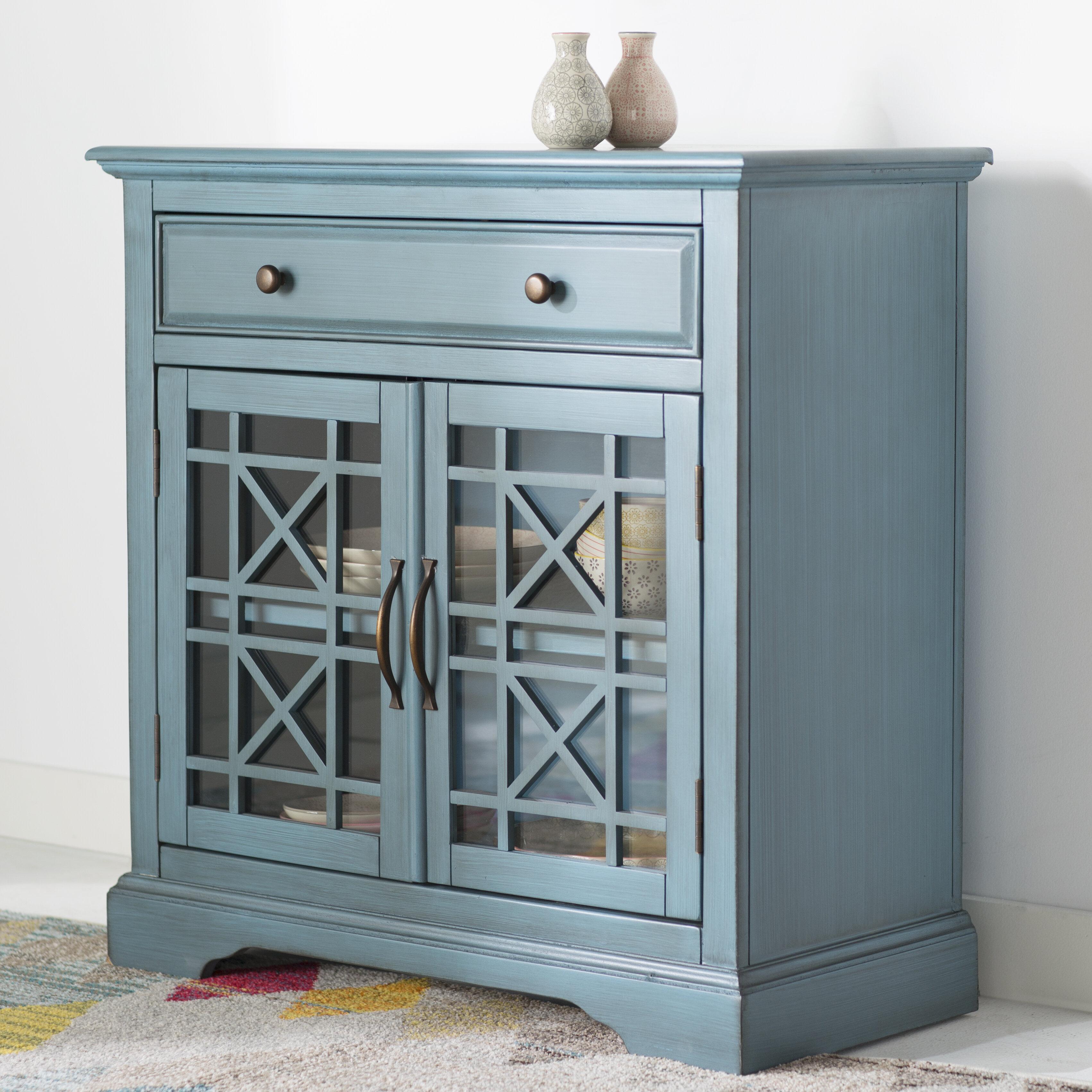 Mistana Daisi 1 Drawer 2 Door Accent Cabinet & Reviews | Wayfair