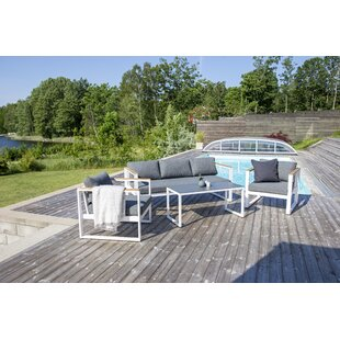 Jiya 4 Seater Sofa Set By Sol 72 Outdoor
