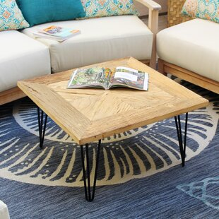 Tammi Square Old Elm Coffee Table by Williston Forge