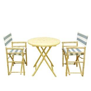 3 Piece Dinning Set By ZEW Inc
