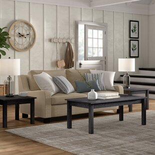 Mauzy 3 Piece Coffee Table Set