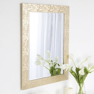 Best Price Coolidge Framed Vanity Beveled Wall Mirror By DesignOvation