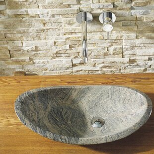 Virtu USA Haides Stone Specialty Vessel Bathroom Sink