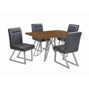 Fernando 5 Piece Dining Set 17 Stories