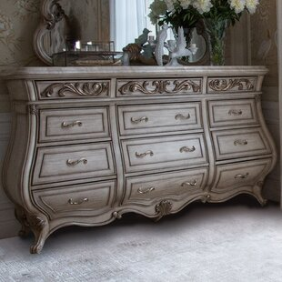 Platine De Royale 12 Drawer Dresser