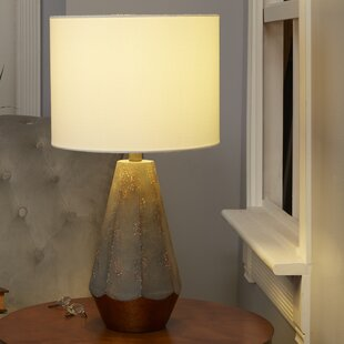 Price Check Precious Rustic Prism 25 Table Lamp with Accent By Mistana