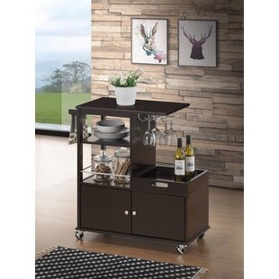 Peach Kitchen Cart