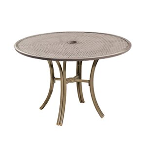 Parker James Bordeaux Stainless Steel Dining Table