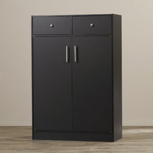 Inexpensive Cormiers 20-Pair Shoe Storage Cabinet By Andover Mills