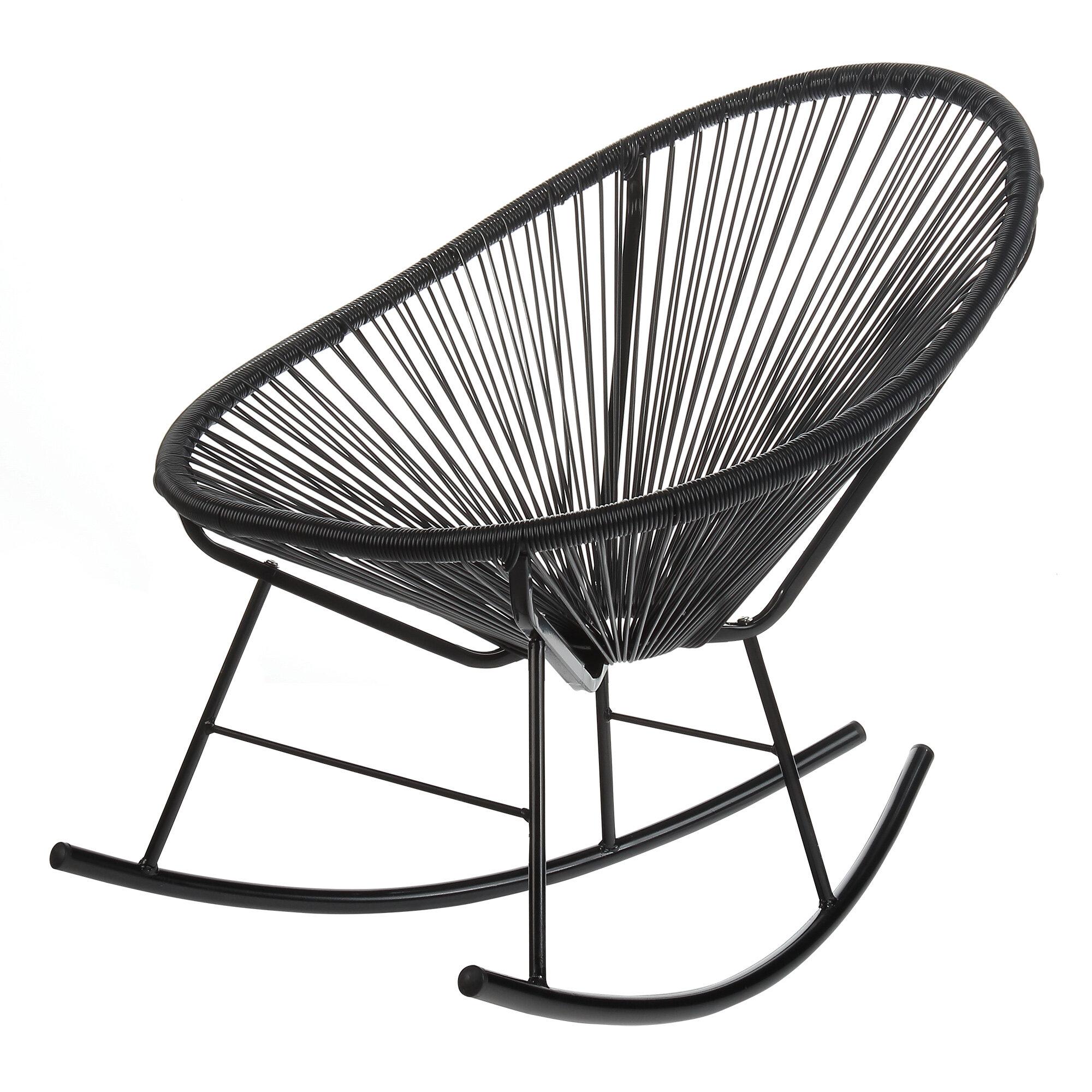 Rocking chair drawing Sketch Allmodern Design Tree Home Acapulco Rocking Chair Reviews Allmodern