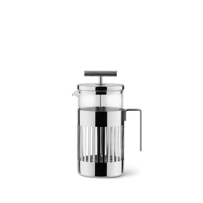 Alessi  Aldo Rossi Press Filter Coffee Maker or Infuser  Size: 72 Oz