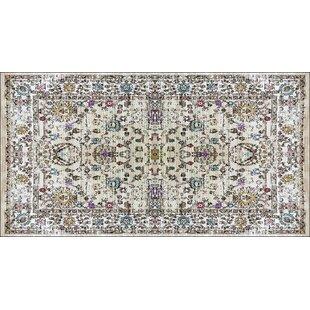 Find for Nasser Black/Beige Indoor/Outdoor Area Rug ByBloomsbury Market