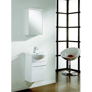 Buying Viggo 18 Wall-Mounted Single Bathroom Vanity Set ByOrren Ellis