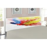 Parrot Upholstered Panel Headboard by East Urban Home